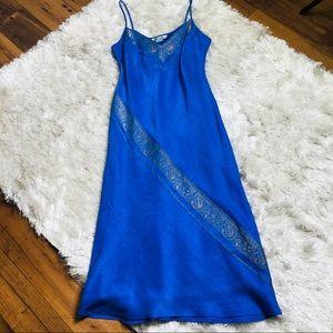Monsoon Iridescent Midi Slip Dress